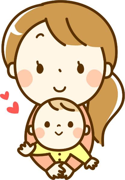 mom baby